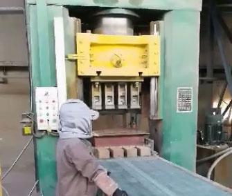 镁砂一出四均化料生产线