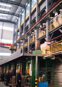 耐火砖自动化生产改造