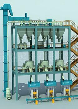 高铝砖全自动生产线