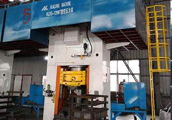 1200吨电动螺旋压力机客户现场视频